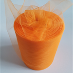 "Orange Tulle 100yard roll x 6"" wide - tutu making"