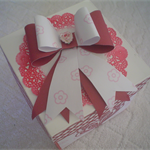 Exploding Gift card in a box