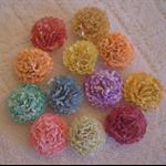 Hand made flowers