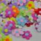 80 x Padded Felt Flower Applique