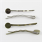 20 Bronze Tone Bobby Pins with Glue Pad