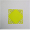 6 die cut square fancy card topper or invitations embellishments.
