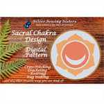 Sacral Chakra Pattern ~Cross Stitching, Knitting, Crocheting, Rug Making SE40002