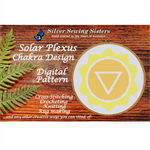 Solar Plexus Chakra Pattern ~ Cross Stitching, Knitting, Crocheting SE40003