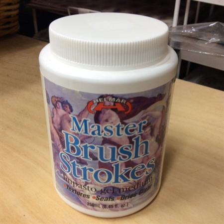 Helmar Master Brush Strokes - Impasto Gel Medium