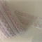 Delicate Pink and White Floral Lace Trim - 3cm wide, 6.5m roll