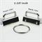 Keyfob Hardware - Pack of 12 3cm each