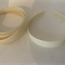 Thick Cream/Ivory Plastic Headbands - Bag of 6