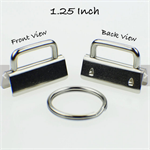 Keyfob Hardware - Pack of 12 3cm each
