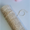 Silver & Natural Metallic Bakers Twine - 4 ply - 100% Cotton