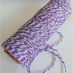 Wisteria Purple Bakers Twine - 4ply - 100% Cotton