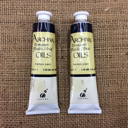 Archival Oil Paints - Paynes Grey