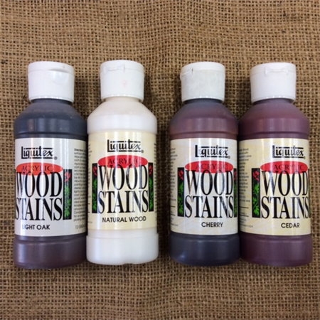 Liquitex Acrylic Wood Stains