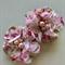 2 Chiffon Flower Rhinestone  Floral