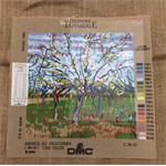 Tapestry - DMC - Arbres Au Printemps (detail) Van Gogh