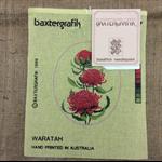 Tapestry Baxtergrafils Waratahs or Sturt's Desert Pea and Kangaroo Paw