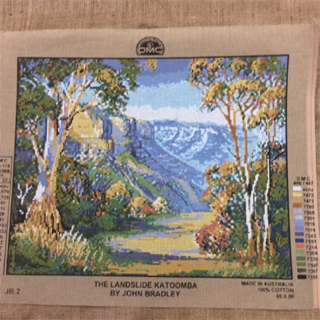 Tapestry - DMC - The Landslide Katoomba by John Bradley