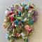50 Gorgeous Small Rosebud Embellishments