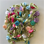 50 Gorgeous Small Rosebud Embellishments