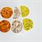 Gold {20} Foil Seals 38mm | Gem Embossed Envelope Seals | Embossed Seals