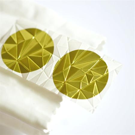 Gold Foil Seals 38mm | Gem Embossed Envelope Seals | Embossed Seals