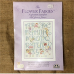 DMC The Flower Fairies - Alphabet Sampler counted cross stitch kit