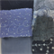 Silk beaded remnant fabric pack