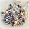 100 x glass pearl and crystal mixed beads - mix #7