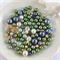100 x glass pearl and crystal mixed beads - mix #5