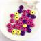 30 x mixed wooden beads - mix #2