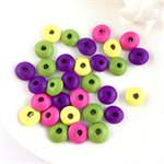 30 x mixed wooden beads - mix #1