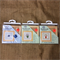 Counted Cross Stitch Kit Miniatures with Fame and Button