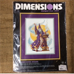Dimensions Stamped Cross Stitch Kit - Commanding Wizard