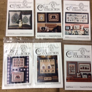 Cross Stitch Charts - the Cricket Collection