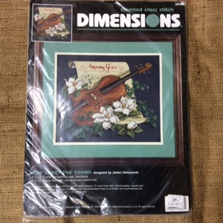 Dimensions Counted Cross Stitch - How Sweet the Sound