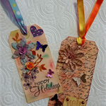 Set of Tags for scrapbooking