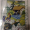 DMC Counted Cross Stitch Kit - Chickens, Rooster, Wheelbarrow, Farmhouse