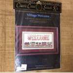 Cross Stitch Stitch - Village Welcome