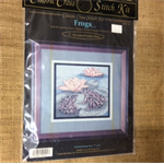 Cross Stitch Kit - Frogs