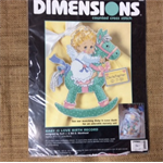 Dimensions Counted Cross Stitch Kit - Baby is Love Birth Record