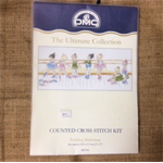 DMC Counted Cross Stitch Kit - Budding Ballerinas