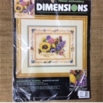 Dimensions Ribbon Embroidery Kit - Delightful Floral