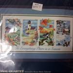 Sunset Crewel Embroidery Kit - Seasonal Quartet