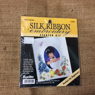 Silk Ribbon Embroidery Starter Kit