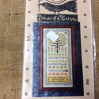 Cross Stitch Pattern by Birds of a Feather - The Happy Gardener
