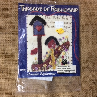 Felt Stitchery Kit - Threads of Friendship