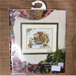 Lanarte Counted Cross Stitch Kit of a Cottage Garden