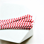 Red White {100} Twist Ties | Stripe Ties | Bread Twist Ties | Christmas Wrap