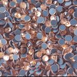 Champagne DIVA Crystals, Flatback, HOTFIX, Rhinestone bulk packs 1440pc