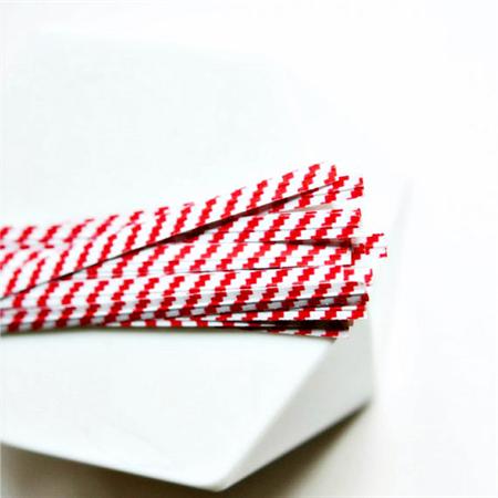 Red White {100} Twist Ties | Stripe Ties | Bread Twist Ties | Christmas Wrap